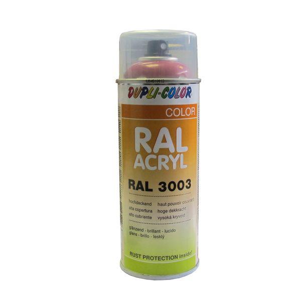A rosol peinture ral 3003 rouge rubis 400 ml - Temps de sechage peinture auto avant vernis ...