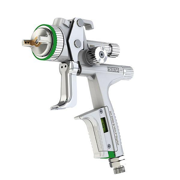 aiguille et chapeau en inox 1.4 Protek 2650 pistolet à gravité hvlp avec buse