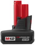 Batterie M12BX Milwaukee