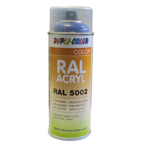 A rosol peinture ral 5002 bleu outre mer 400 ml - Temps de sechage peinture auto avant vernis ...