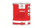 Mastic spray