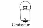 Lot de 10 ampoules graisseur 12 Volts 5 Watts