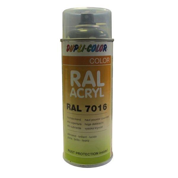 A rosol peinture ral 7016 gris 400 ml - Temps de sechage peinture auto avant vernis ...