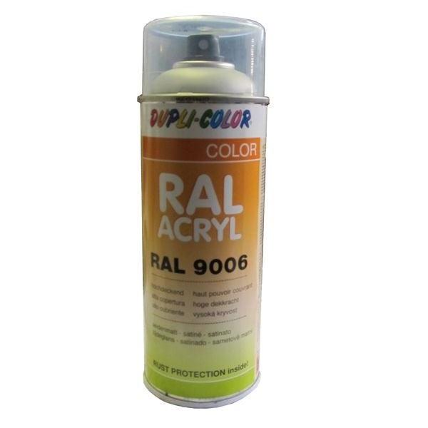 A rosol peinture ral 9006 aluminium blanc 400 ml for Peinture aluminium exterieur