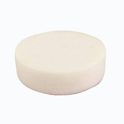 Mousse de lustrage dure diam. 80 mm blanche