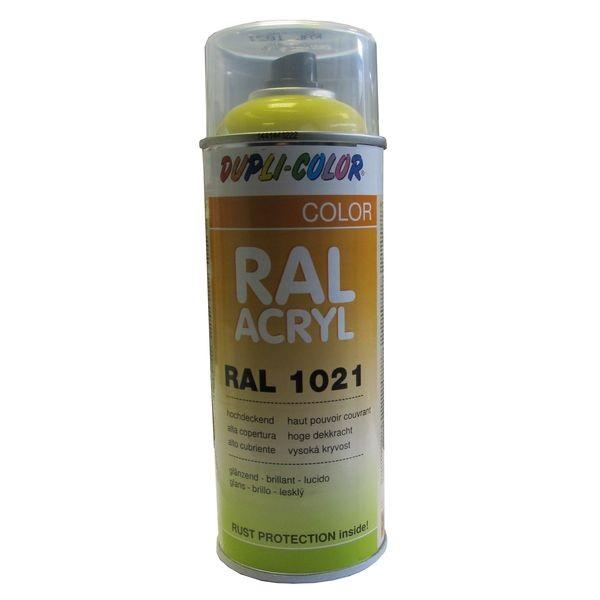 A rosol peinture ral 1021 jaune colza 400 ml - Temps de sechage peinture auto avant vernis ...