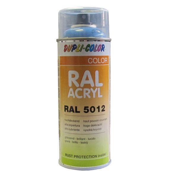 A rosol peinture ral5012 bleu clair 400 ml - Temps de sechage peinture auto avant vernis ...